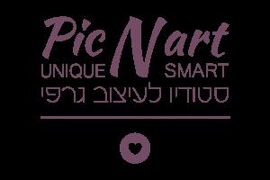 לוגו Pic N art סטודיו לעיצוב גרפי